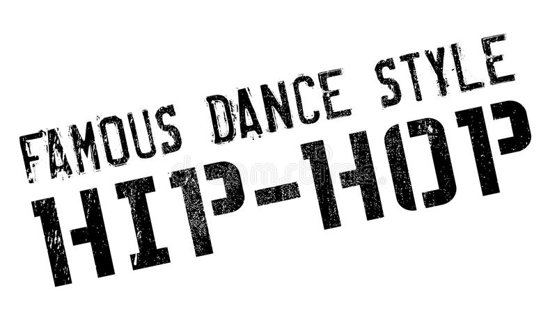 Famous Dance Style, Rock And Roll Stamp Stock Vector