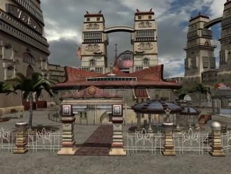 Medieval Dark Fantasy City
