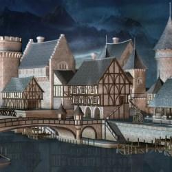 Fantasy Medieval City Stock Illustrations 2 008 Fantasy Medieval City Stock Illustrations Vectors & Clipart Dreamstime