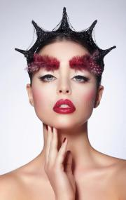 fantasy. styled artistic woman