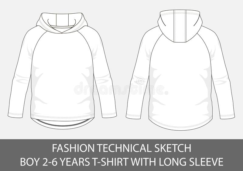 Fashion Technical Sketch Men Knit Aran Single-breasted