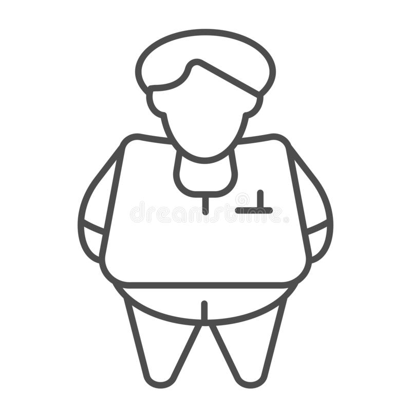 Fat Thin Stock Illustrations