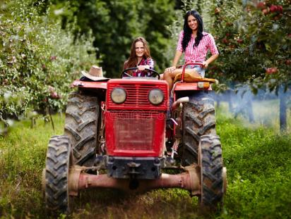 213 Tractor Girls Photos - Free & Royalty-Free Stock Photos from Dreamstime