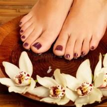 Nail Salon Pedicure Feet