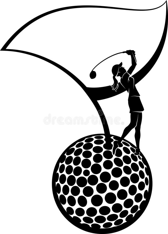 Royalty Free Golfer Clip Art Vector Images
