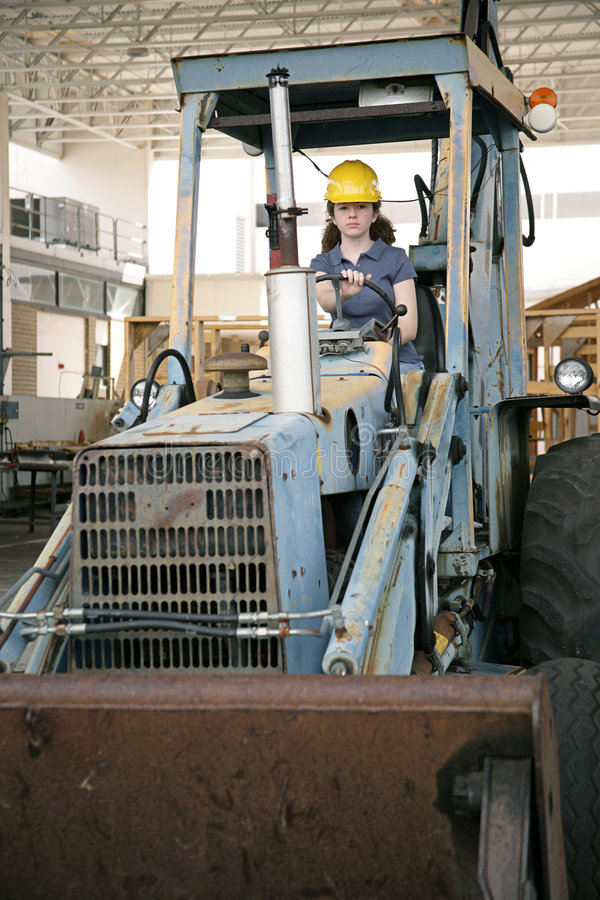 Female Heavy Equipment Operator Stock Photo  Image 1854900