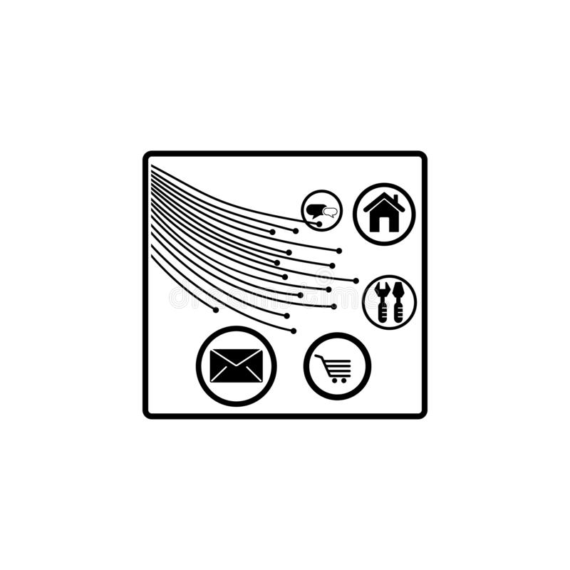 Fiber Optic Stock Illustrations