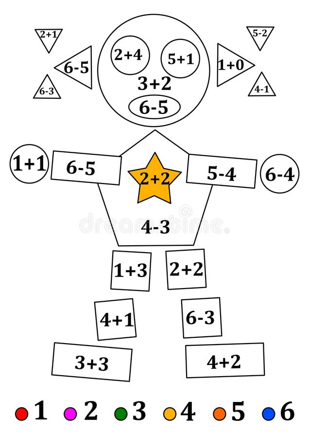 Figure Of Geometric Shapes With Numerical Examples For