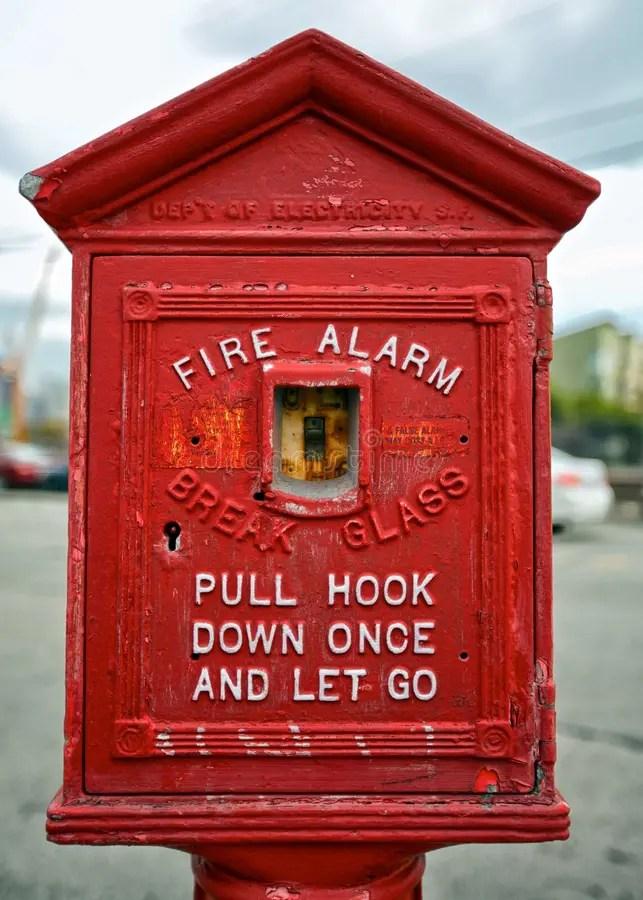 San Francisco Fire Alarm Box Editorial Stock Image - Image of fire. speaker: 31091699