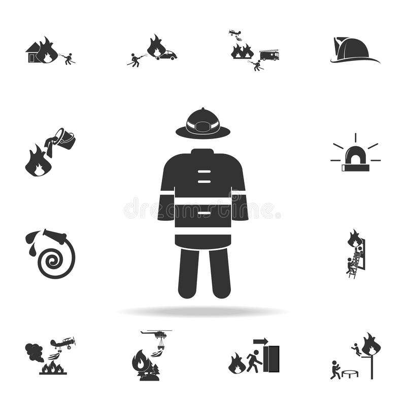 Protective Helmet Icons Set, Simple Style Stock Vector