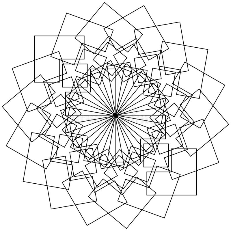 Mandala Ethnic Decorative Elements Indian Islam Arabic