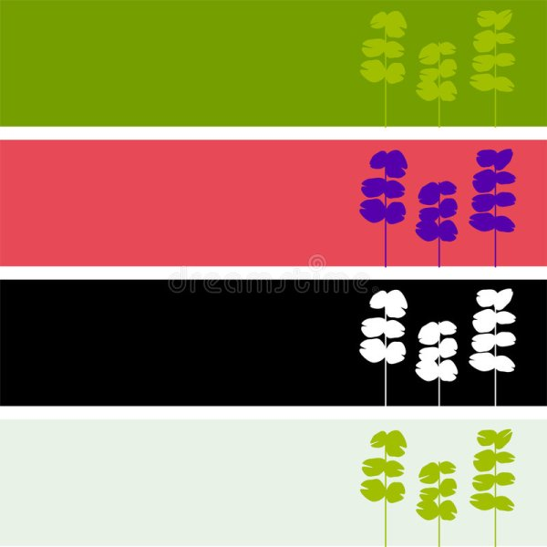 Blank Floral Logo Stock Vector. Illustration Of Stem