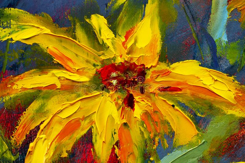 oil paintings stock images