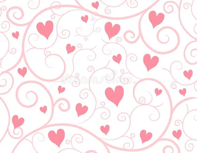 Rose Petals Falling Wallpaper Fondo Rosa Claro De La Vid De Los Corazones Stock De