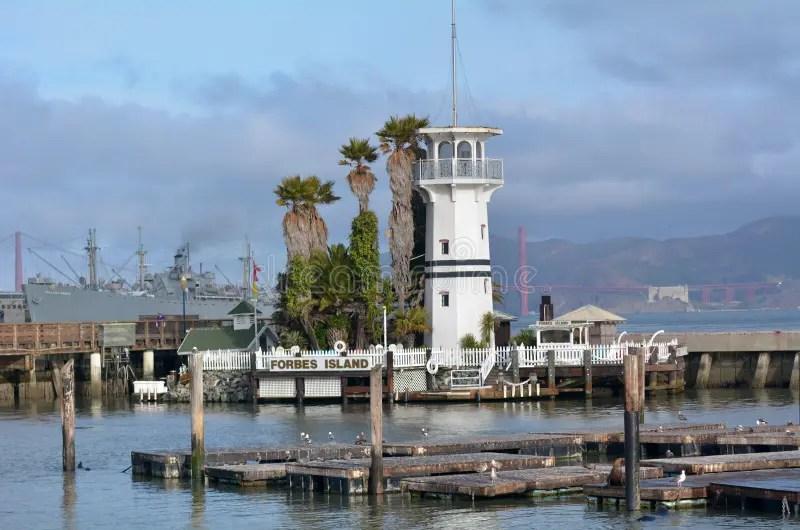 Forbes Island Im Fischer Wharf San Francisco CA ...