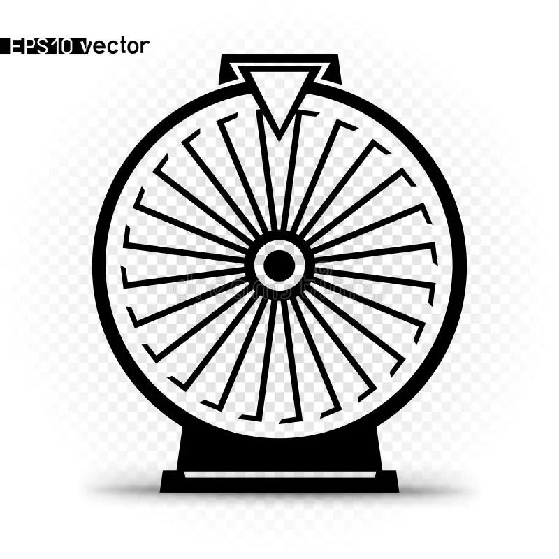 Spin Wheel Stock Illustrations
