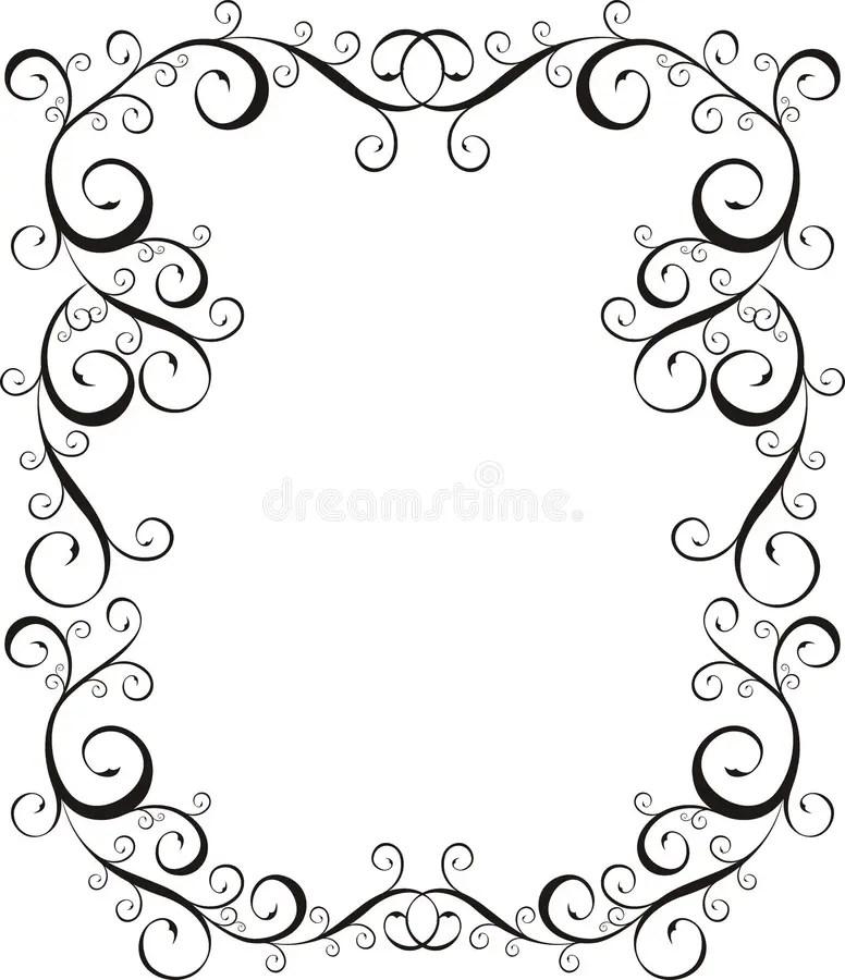 Frame Letter border stock vector Illustration of craft  6096588