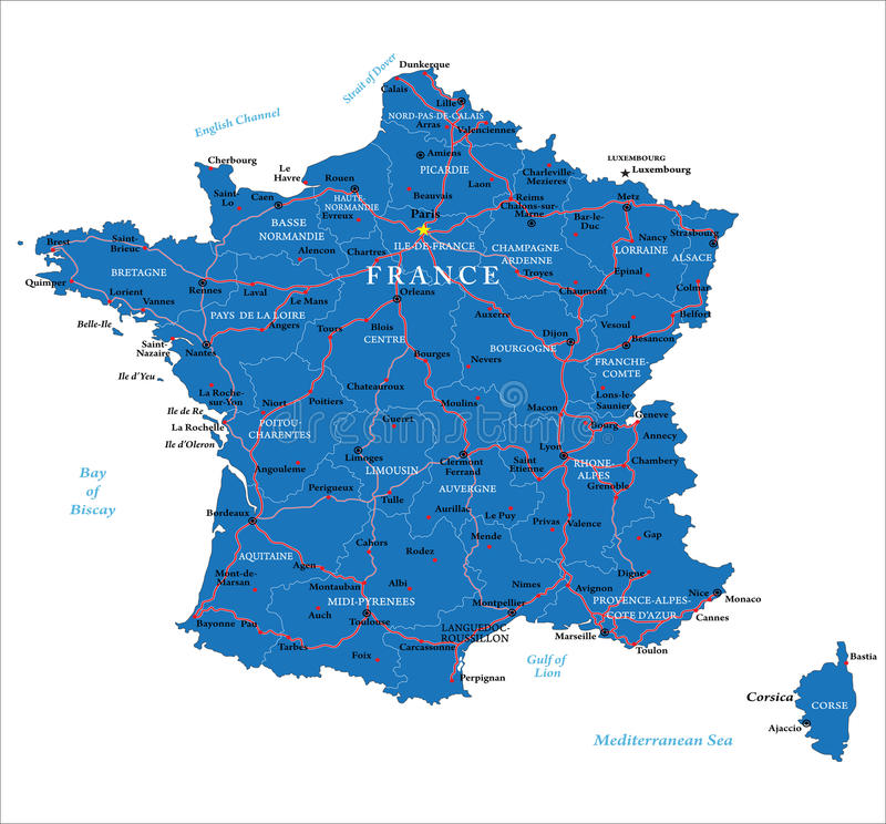 Map Of France Regions And Cities.Cheverny Map Cities And Regions France