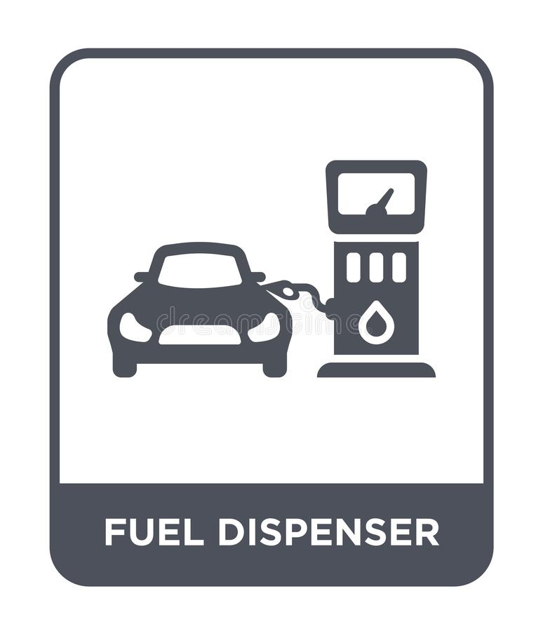 Fuel Dispenser And Fuel Nozzles At A Filling Station To