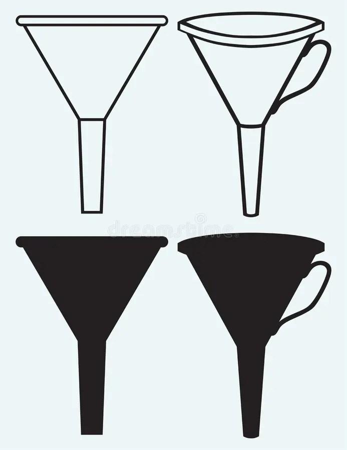 Funnel Stock Illustrations