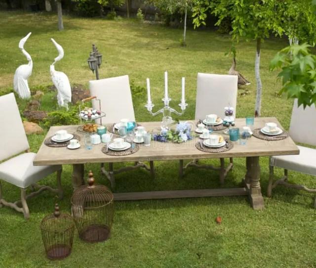 Furniture Table Backyard Grfree Public Domain Cc Image
