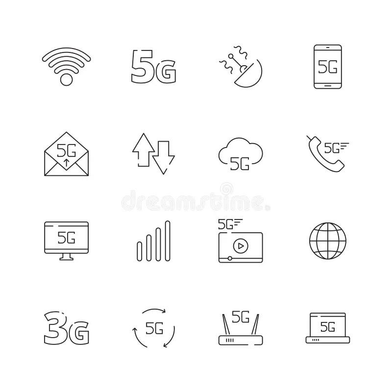 Cloud Wireless Icon stock illustration. Illustration of