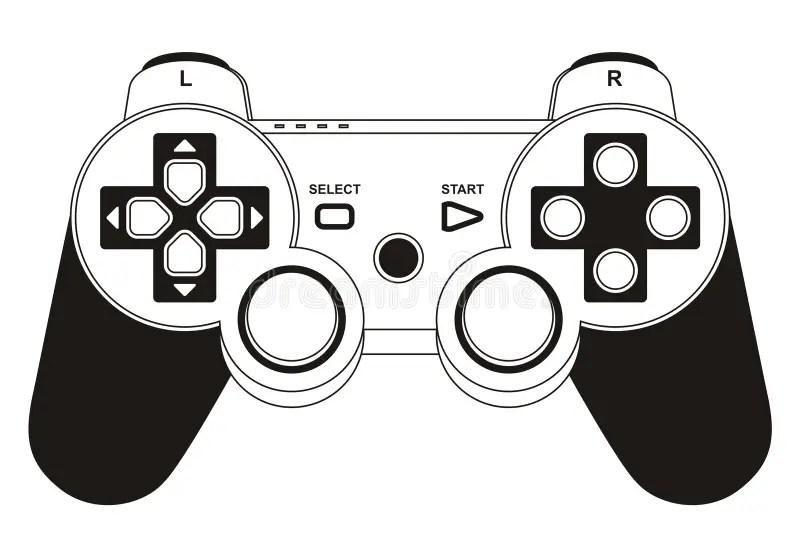 Gamepad Stock Illustrations