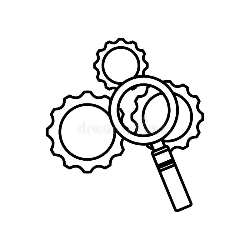 Machine Settings Stock Illustrations