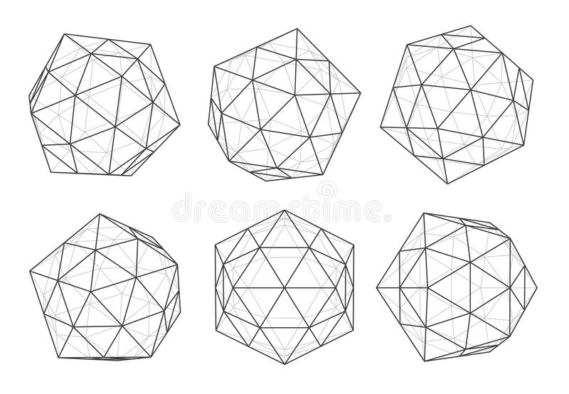Volume forms stock illustration. Illustration of abstract