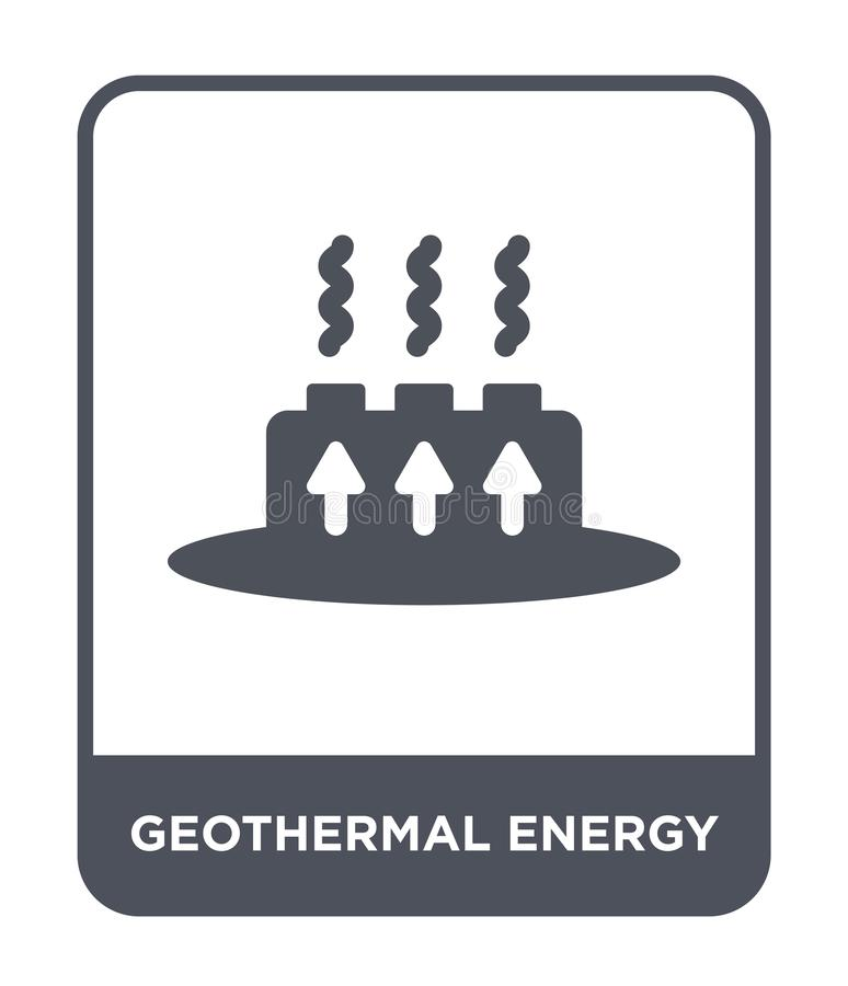 Geothermal Energy. Education Infographic. Vector Design