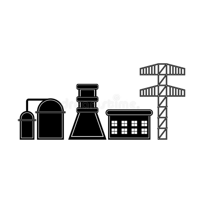 Geothermal Power Stock Illustrations