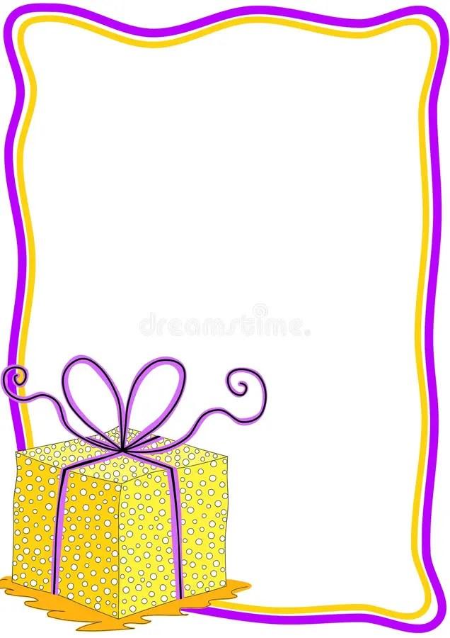 Birthday Card Frames And Borders Allcanwear