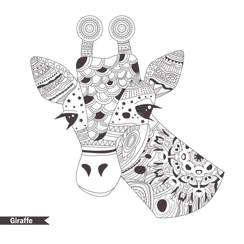 Henna Mehendi, Tattoo Sketch. Toucan Stock Vector