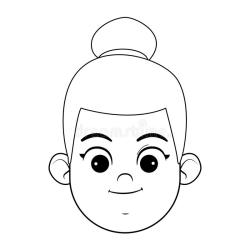 Little Girl Smiling Face Black White Stock Illustrations 320 Little Girl Smiling Face Black White Stock Illustrations Vectors & Clipart Dreamstime