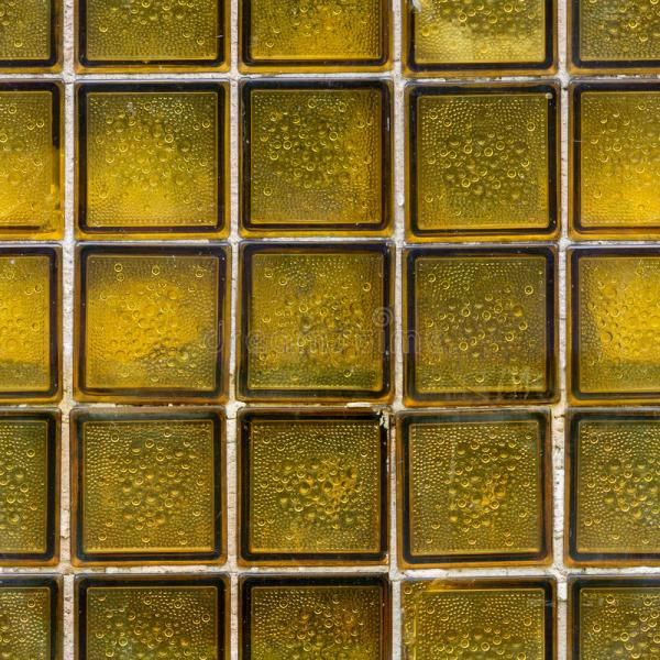 Glass Brick And Tile Stock Of Undulating