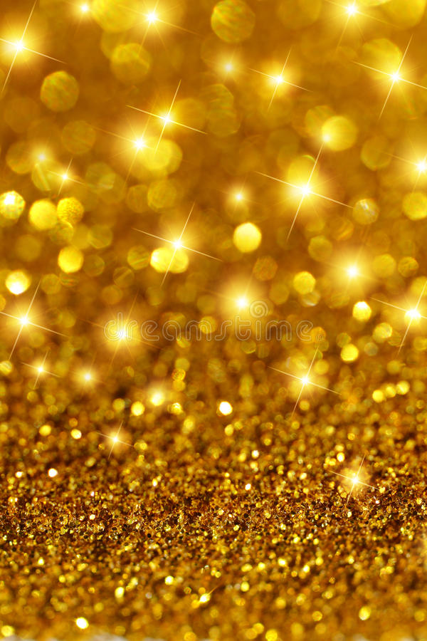 Falling Stars Wallpaper Gold Glitter And Stars Stock Image Image 26765591