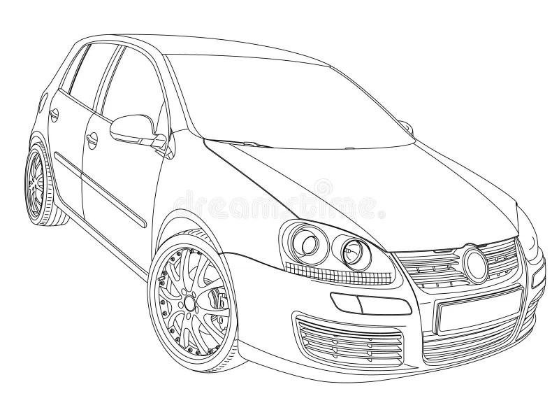 Pagine Di Coloritura Per Stampare Volkswagen Type3