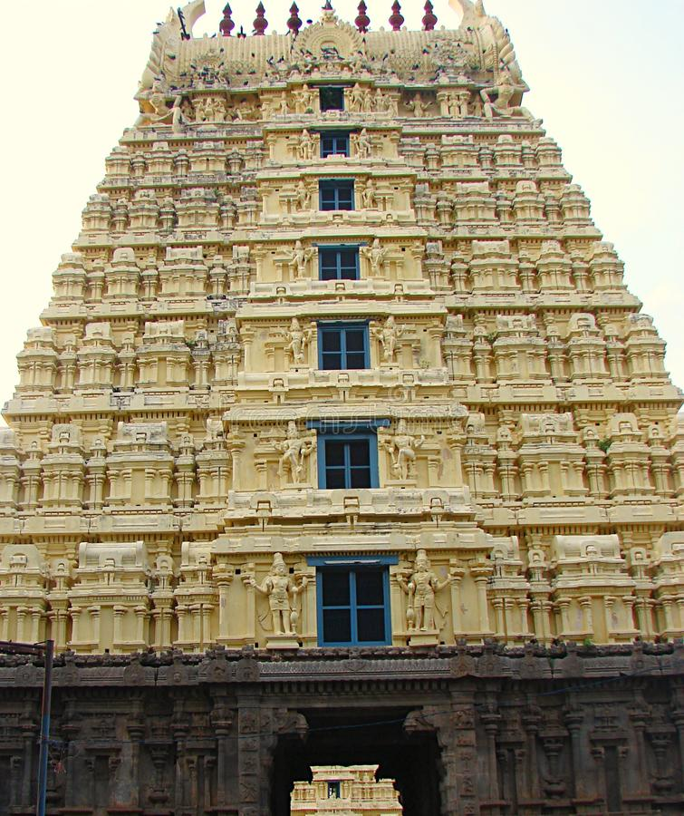 Gopura Gopuram - A Gate In Hindu Temples Of Dravidian Style Stock Photo - Image of fort. architecture: 80299176