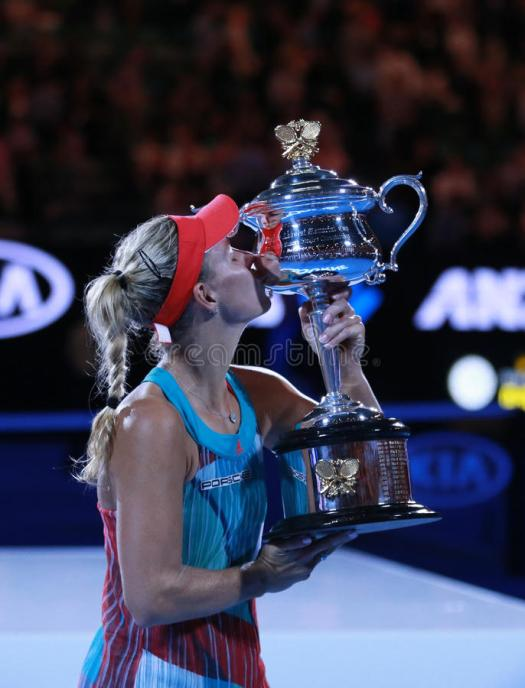 Grand Slam Champion Angelique Kerber Of Germany With ...