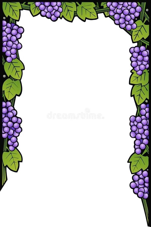 Purple Graduation 11 Border 8 5 X