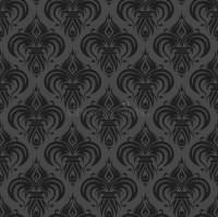 Gray Black Antique Seamless Wallpaper Stock Vector ...