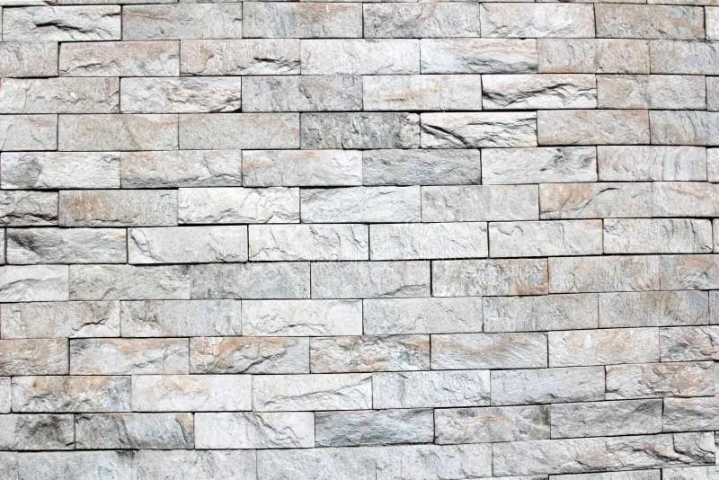 3d Brick Pattern Wallpaper Gray Brick Wall Background Royalty Free Stock Photos