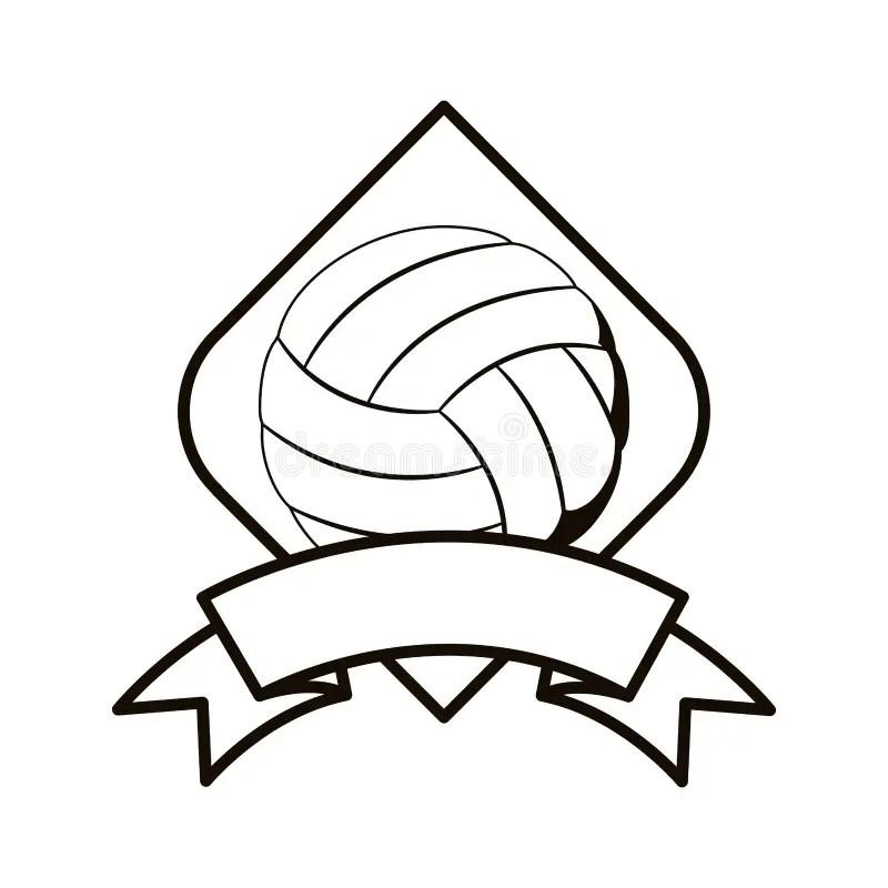 Volleyball Tournament Illustration Stock Vector