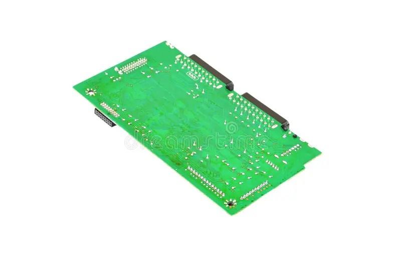 Green Circuit Board Stock Photo Image 66583923