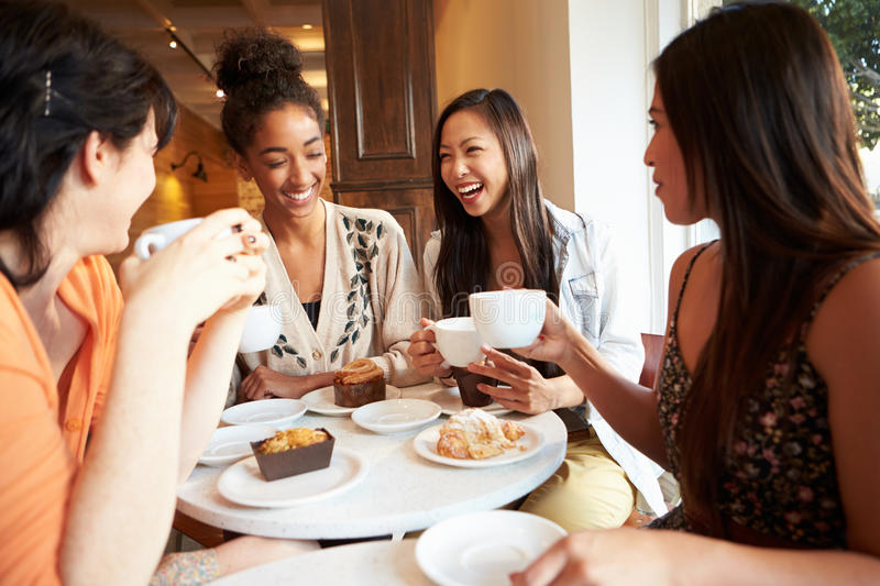 Group Of Male Friends Meeting In Cafe Restaurant Stock Photo - Image of four. online: 36600292