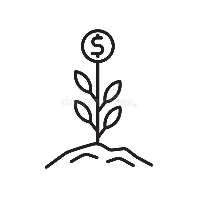 Growth Symbols Stock Illustrations