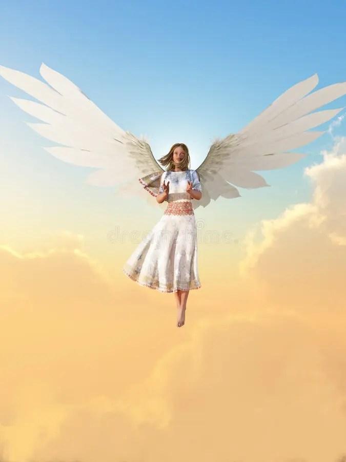 Female Guardian Angel Drawing : female, guardian, angel, drawing, Guardian, Angel, Stock, Illustrations, 2,688, Illustrations,, Vectors, Clipart, Dreamstime