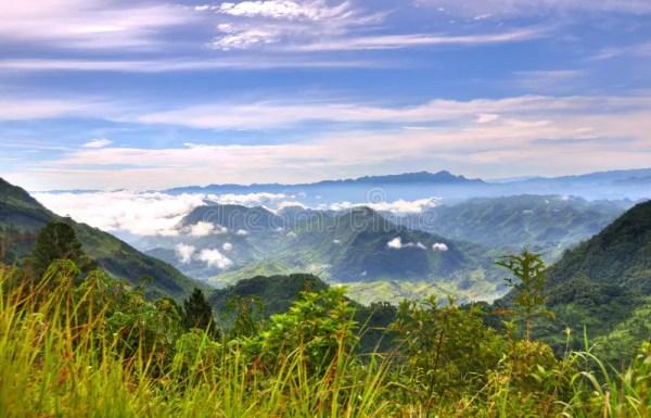 guatemala landscape royalty free
