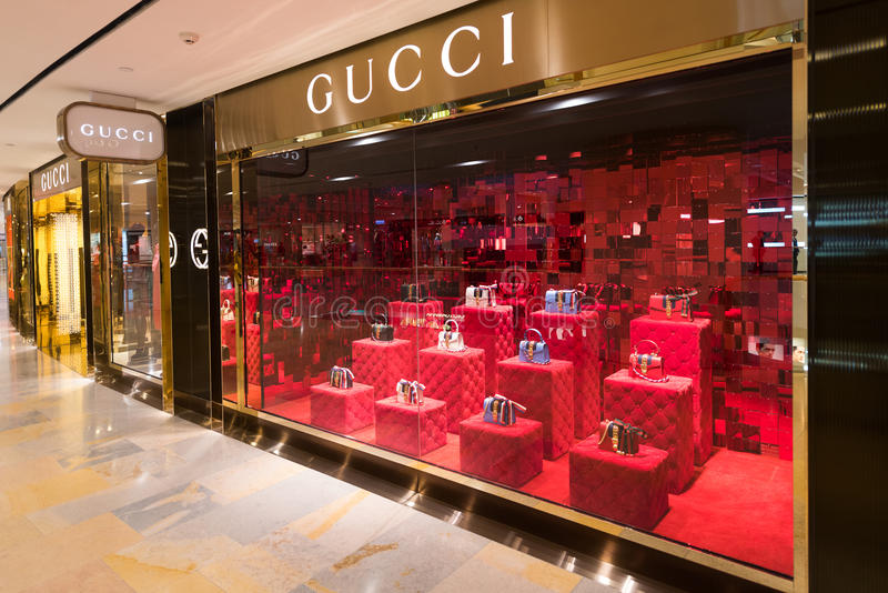 Gucci Store In The Pacific Place Mall. Hong Kong Editorial Photography - Image of assistant. fancy: 149376332