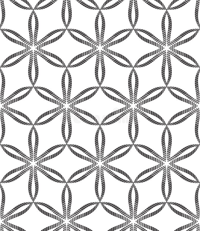 Seamless Pattern Geometric Texture Vector Art